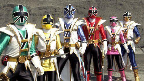 Les power rangers samurai