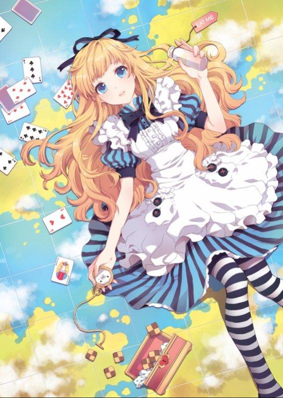 """Résultat de recherche d'images pour """"alice version manga"""""""