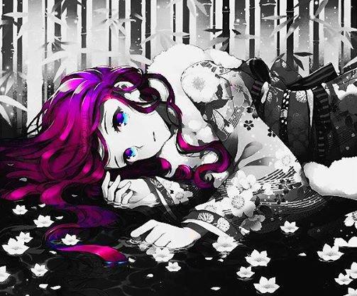 Manga en noir en blanc et en couleur des mangas a croquer - Noir et blanc couleur ...