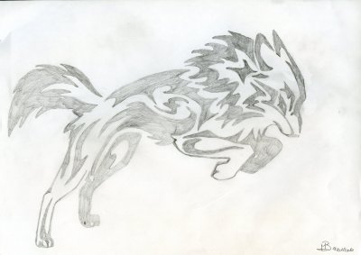 Tribal loup!!!