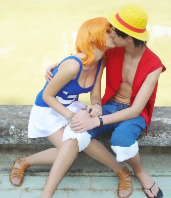 Luffy x Nami mailleur Cosplay :D