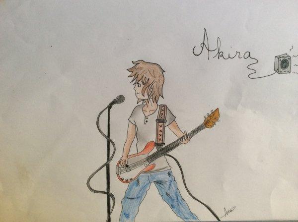 Akira le guitariste