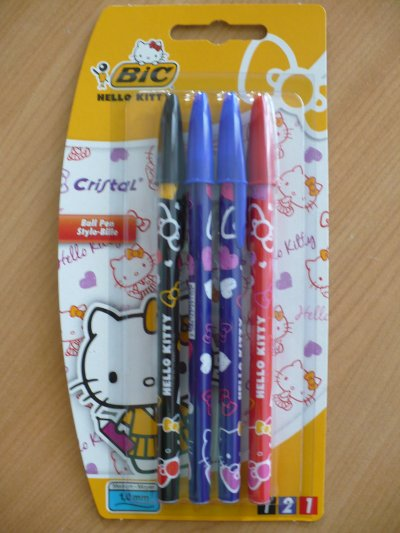stylo bic hello kitty
