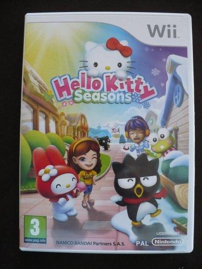 Jeux hello kitty pour Wii