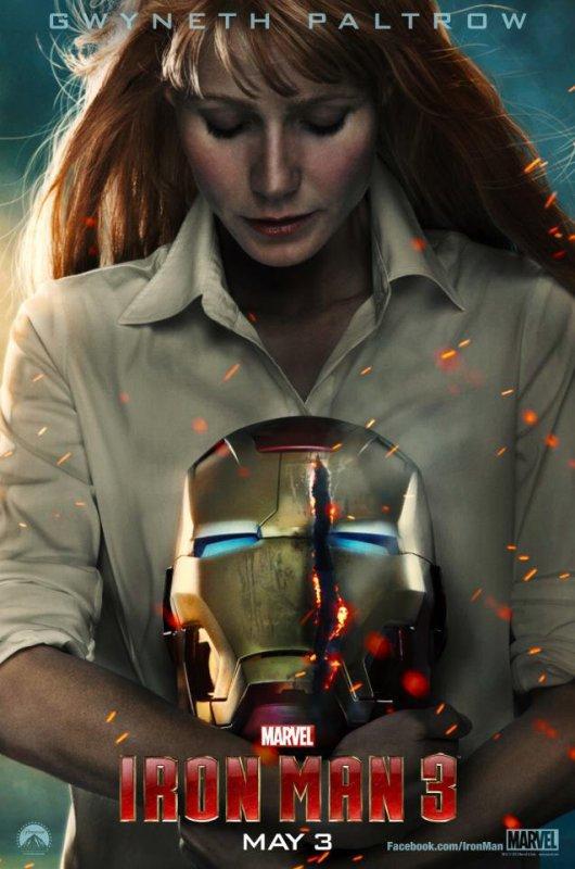 Iron Man 3 : Pepper Potts