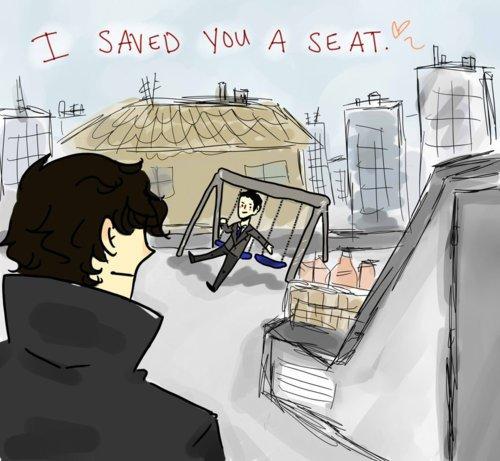 Scoop : la scène réelle de l'épisode final de la saison 2 de Sherlock !