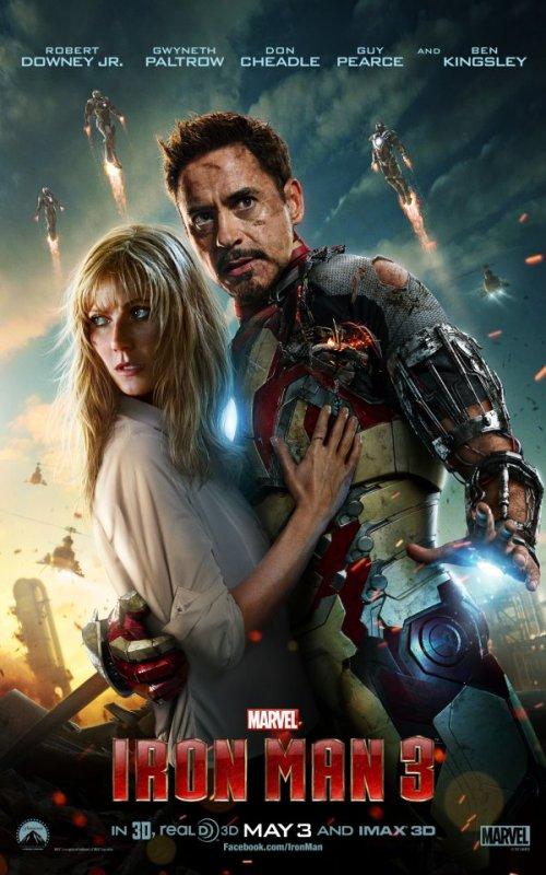 Aperçu d'une nouvelle affiche pour Iron Man 3