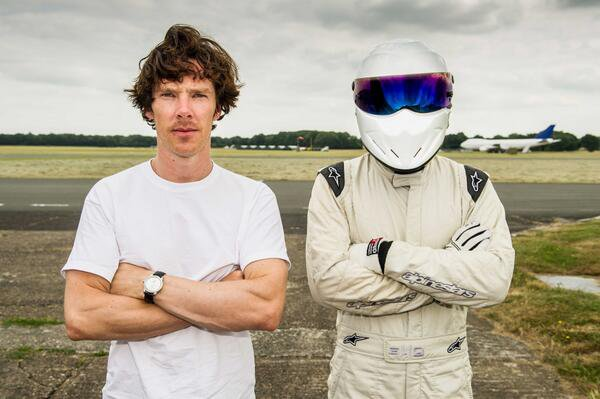 Benedict Cumberbatch à Top Gear