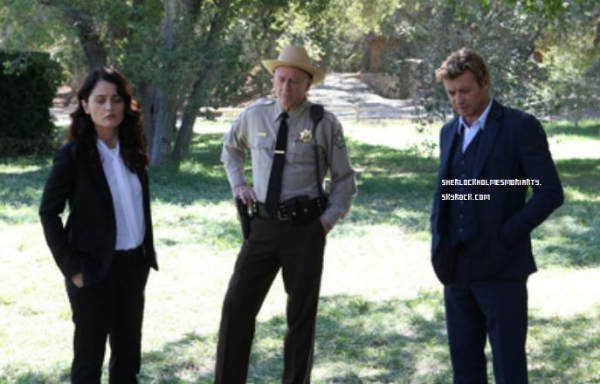 """Three New Promo Photos The Mentalist 6.03 """"Wedding In Red"""""""
