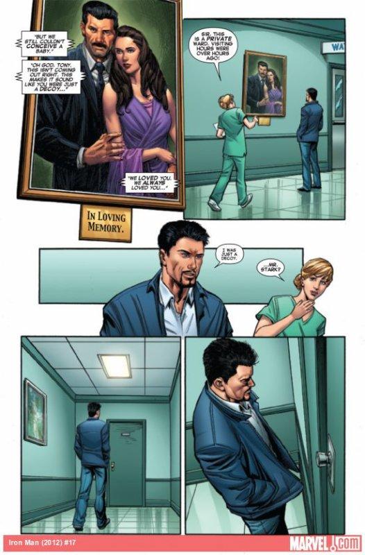 Découvrir l'origine secrète de Tony Stark !