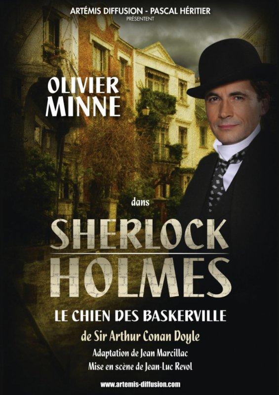 Olivier Minne dans la peau de Sherlock Holmes