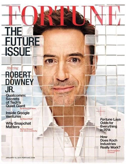 Nouvelles fraîches : Robert pose pour Fortune Magazine !
