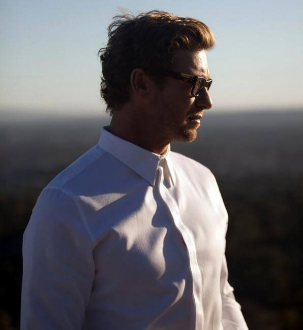 Simon Baker by Givenchy