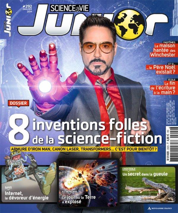 RDJ en couverture de S&V Junior