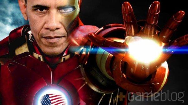 """""""On construit Iron Man"""" dixit Obama"""