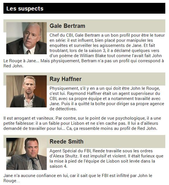 Les Belges vont enfin savoir qui est John le rouge dans «Le Mentaliste»