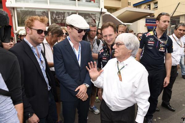 Benedict Cumberbatch au Grand Prix de F1 de Monaco [25/05/2014]