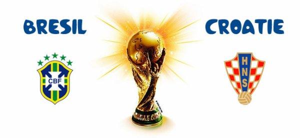 Votre pronostic pour le match d'ouverture de la Coupe du Monde 2014 Brésil / Croatie