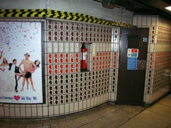 Rénovation de la station de métro Baker Street