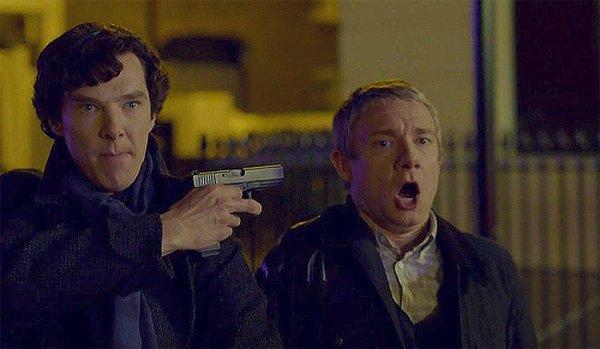 Benedict Cumberbatch et Martin Freeman en concurrence pour un Emmy Awards