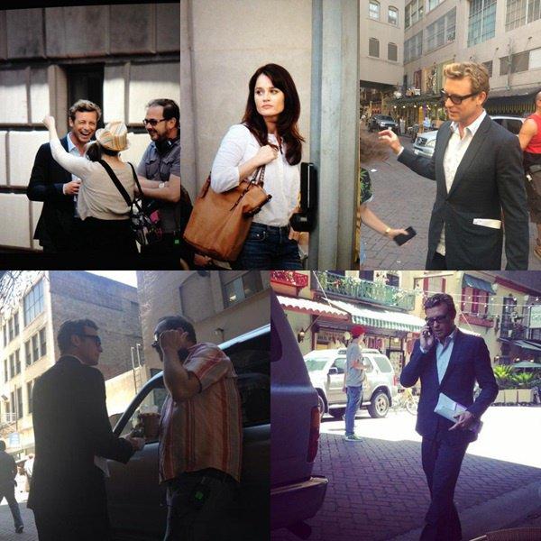 Mentalist saison 7 : Lisbon et Jane sur de nouvelles photos du tournage