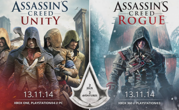 Sorties Assassin's Creed