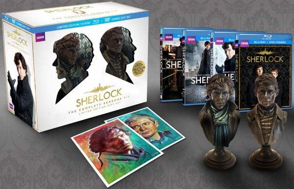 Sherlock : extrait du bêtisier du coffret intégral