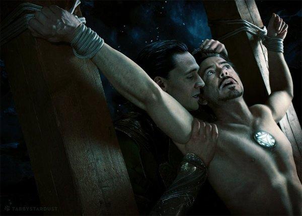 Robert Downey Jr découvre une fan fiction gay sur lui en tapant son nom dans Google