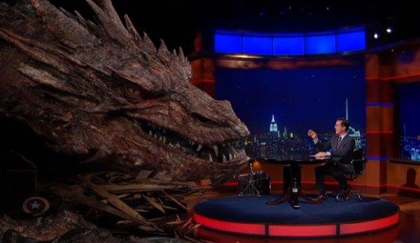 Le dragon Smaug interviewé en personne !