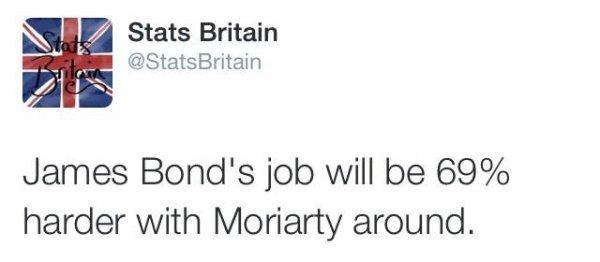 Tellement vrai ! #AndrewScott #Moriarty #007