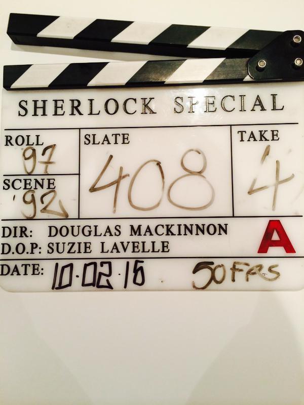 Des nouvelles de l'épisode spécial Sherlock