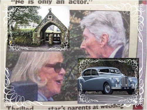 Des photos du mariage de Benedict Cumberbatch et de Sophie Hunter
