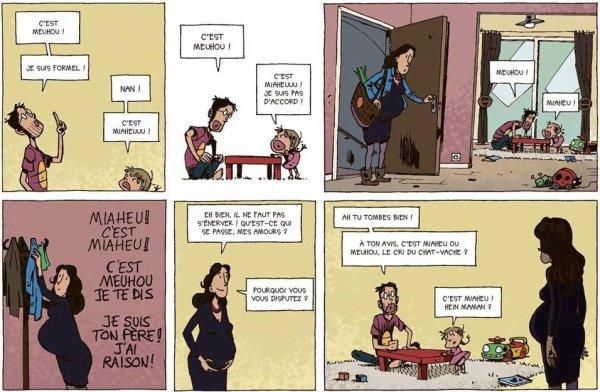 Biologie animale avec un jeune père :D #RienAVoir