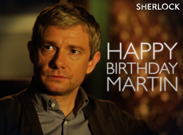 Happy Birthday Martin Freeman !