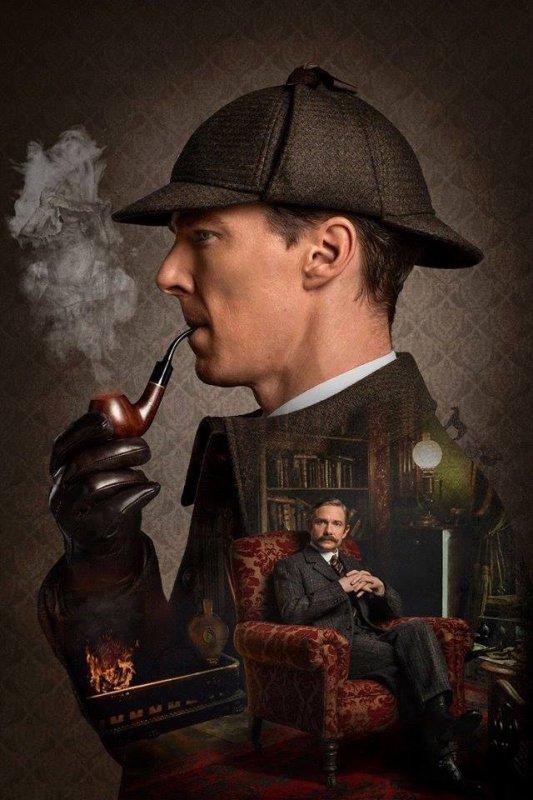 Nouvelles photos de l'Abominable mariée ! #221Back #Sherlock