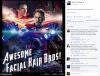 Quand Robert Downey Jr publie une image BADASS sur son Facebook !