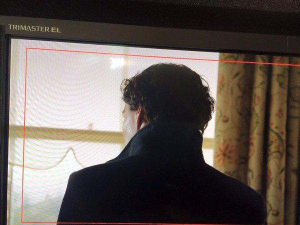 Une première photo officielle du tournage #setlock
