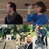 Louise Brealey et Andrew Scott à Paris #ComicsExpo #Sherlock