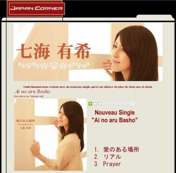 Yuuki Nanami nouveau single