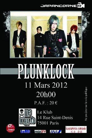 PLUNKLOCK en concert