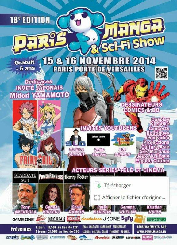 Paris Manga - 15&16 novembre