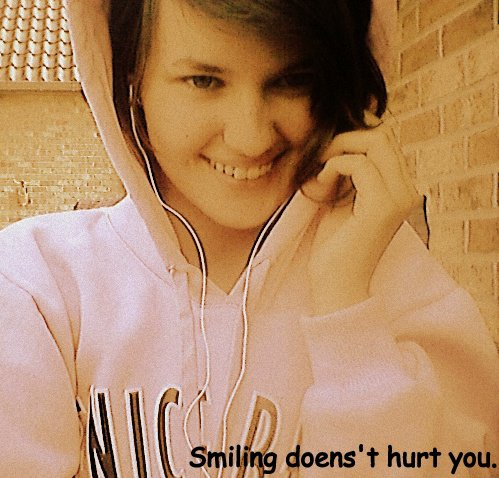 #SmilingDoesn'tHurtYou