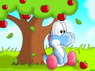 Folie des pommes!