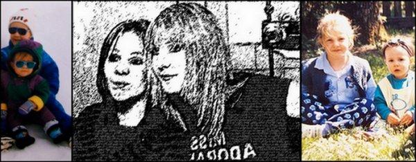 Raphaëlle & Mylène H.__________C'est Toi & Moi petite soeur ♥