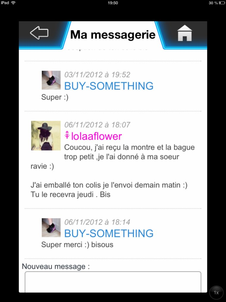 Mes transactions. (16)