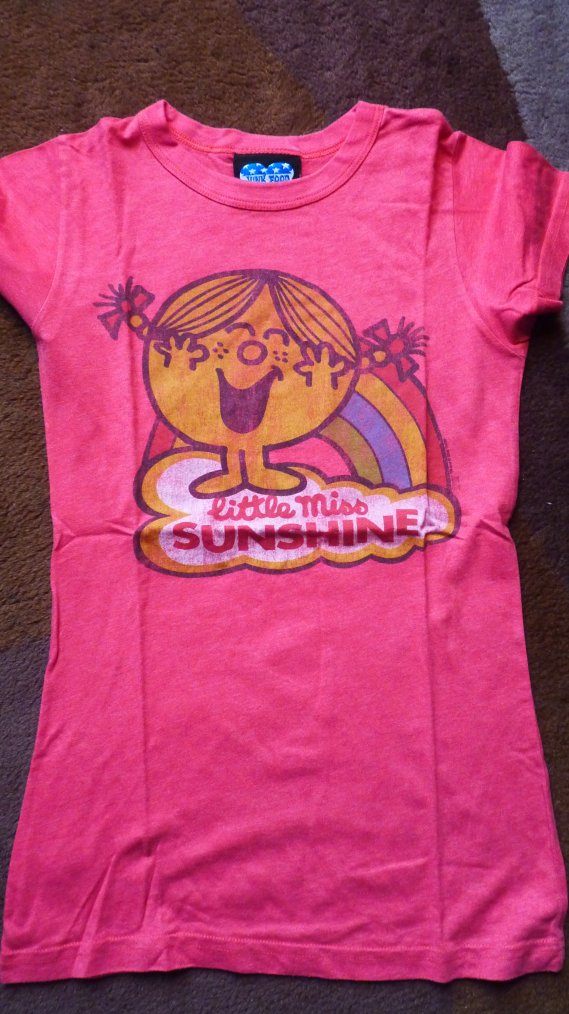 T shirt little miss sunshine NEUF