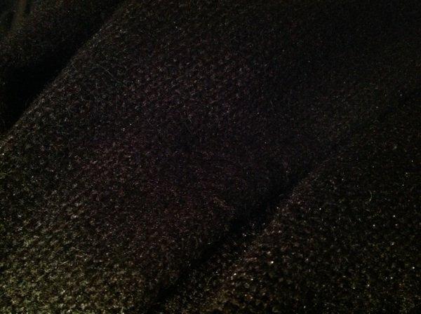 Gilet h&m loose noir brillant