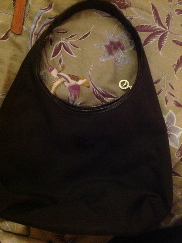 Sacs longchamps (3) 2 noir et 1 vert