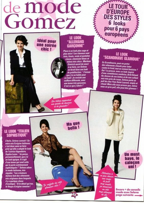 "article de mode de selena gomez ""le defile de mode de selena gomez  ''"