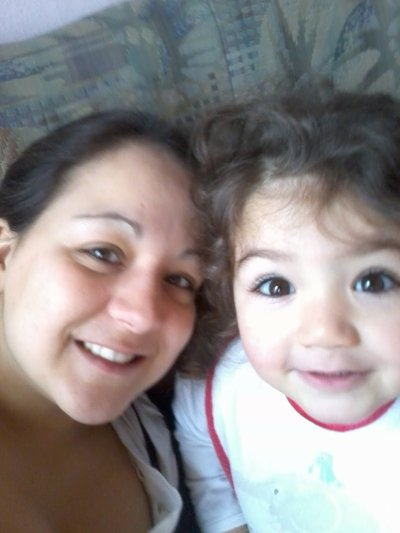 ma petite fille et moi meme.